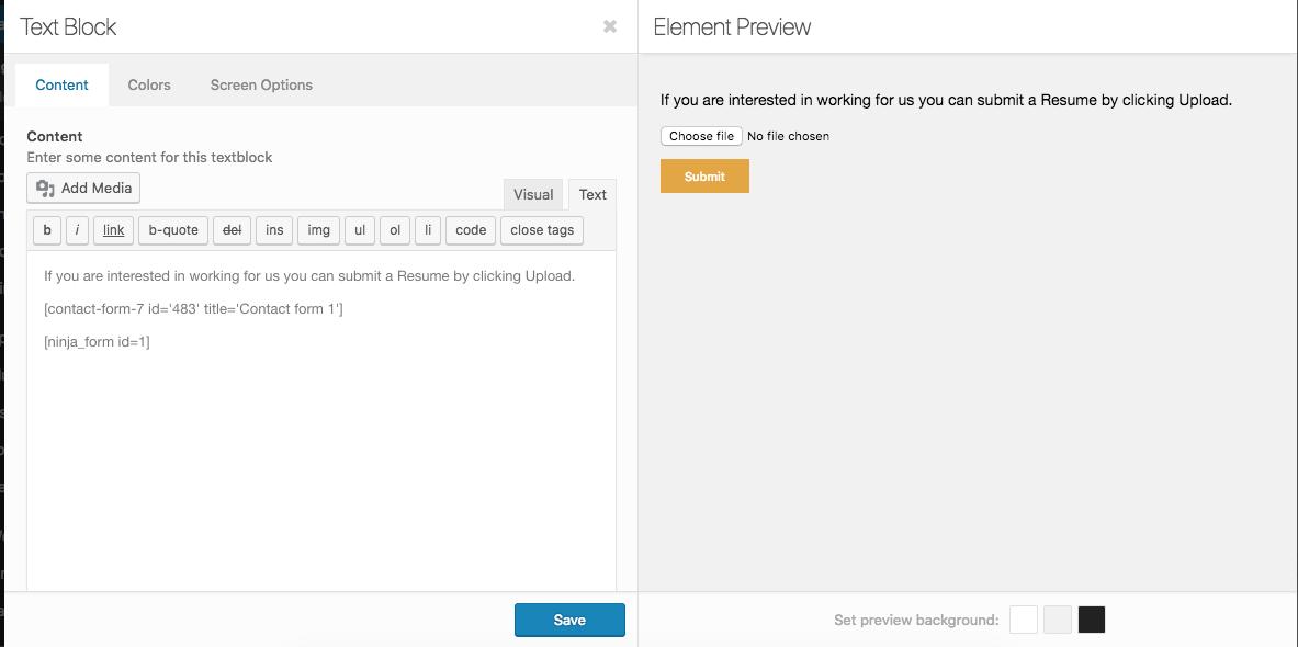 Contact Form 7 short code not rendering - Support | Kriesi